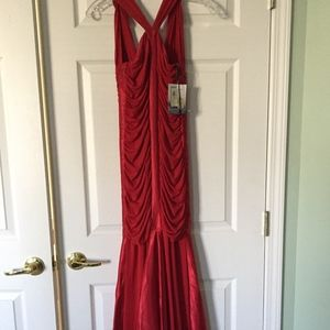 NWT red gown sz 2